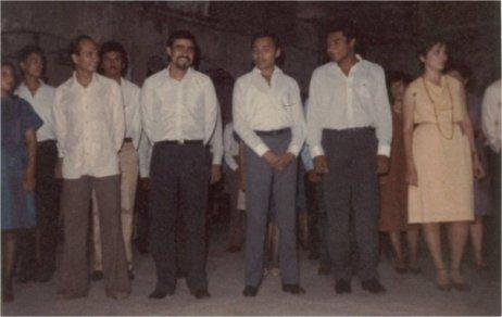Quizas la primera promoción de egresados de arquitectura en las Ruinas del Gran Hotel en 1985 promovida por la Arq. Tamara Pereyra quien era dirigente estudiantil de esa epoca.