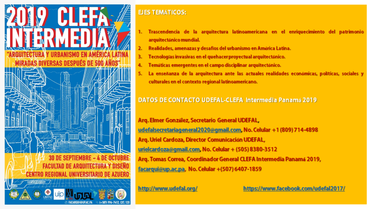 CLEFA Intermedia Panama 2019